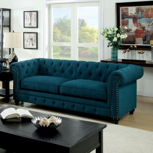 Everly Quinn Brylee Chesterfield Sofa