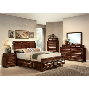 Canora Grey Mcnair Sleigh Configurable Bedroom Set