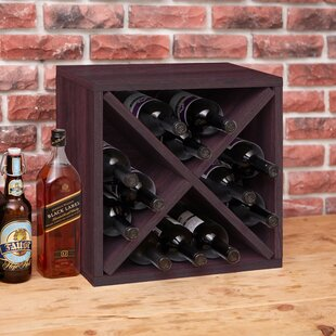 Tallent 12 Bottle Tabletop Wine Bottle Rack