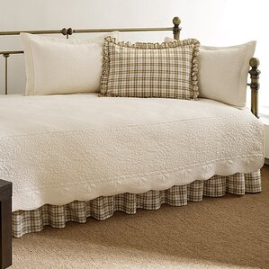 5piece rory cotton quilted daybed set