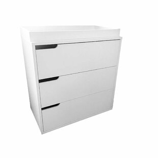 Ducey 3 Drawer Chest by Zoomie Kids