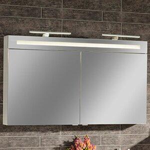 120 cm x 71 cm wandbefestigter Spiegelschrank B.Clever von Fackelmann