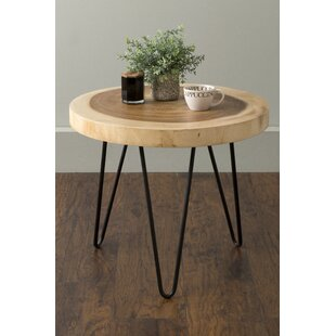 Polizzil End Table by Union Rustic