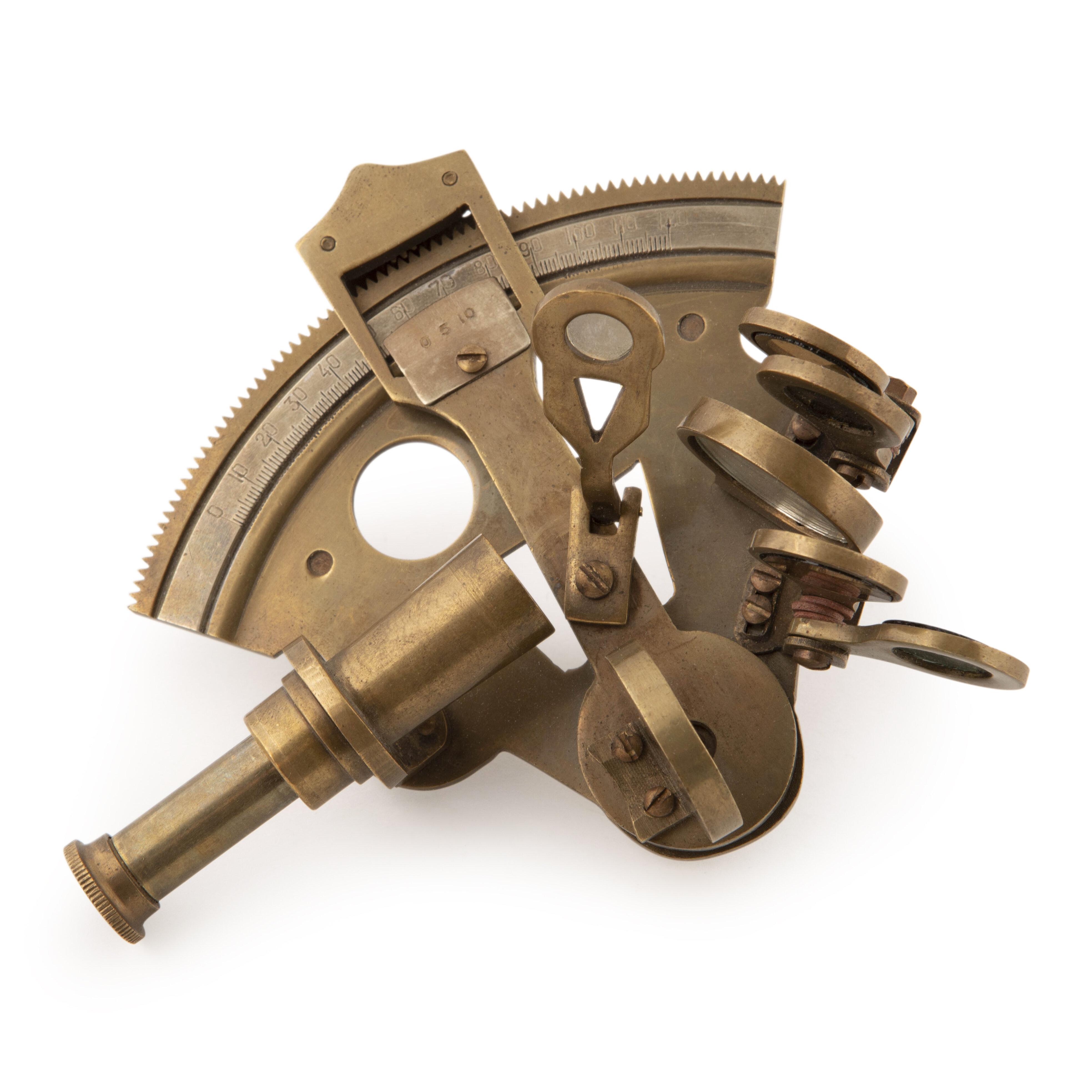 Alcott Hill Azariah Pocket Sextant Decorative Telescope Reviews Wayfair