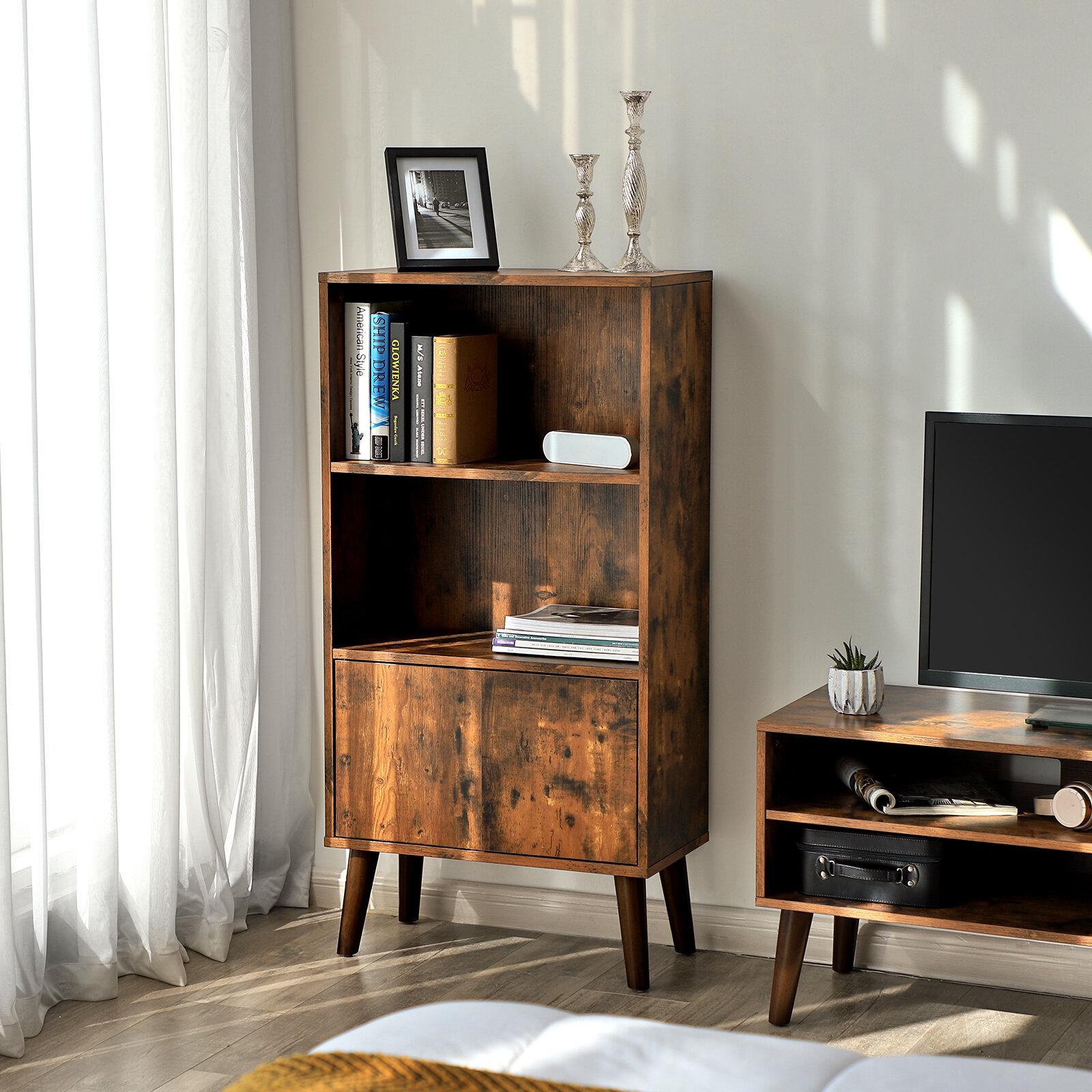 Millwood Pines Wethersfield Standard Bookcase Reviews Wayfair