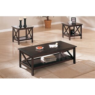 Ana 3 Piece Coffee Table Set