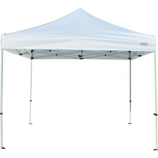 Classic 10 Ft. W x 10 Ft. D Steel Pop-Up Canopy by Caravan Canopy