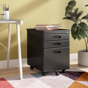 Wrought Studio Feltonville 3 Drawer Filin..