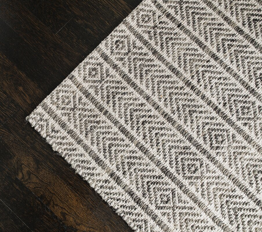 Dions Hand Woven Grey Area Rug