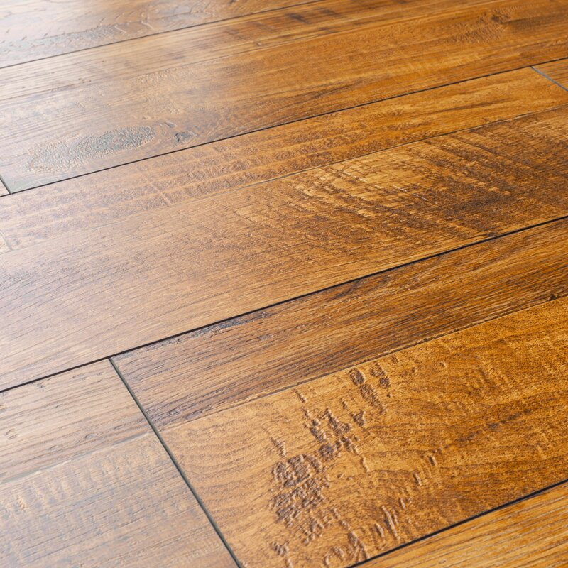 Kronoswiss 8 X 48 X 12mm Pine Laminate Flooring In Golden Oak