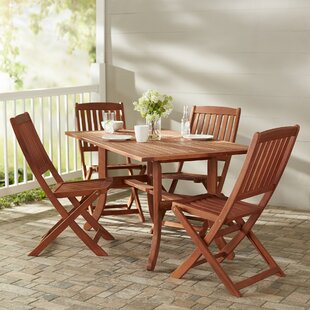 Monterry 5 Piece Dining Set by Beachcrest..
