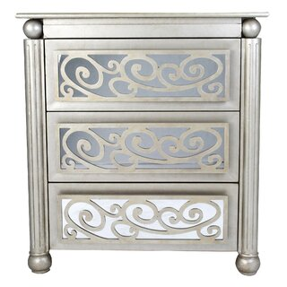 Alleyne 3 Drawer Accent Chest by Rosdorf Park SKU:AC212355 Check Price