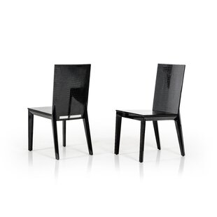 Willa Arlo Interiors Janine Lacquer Side Chair (Set of 2)