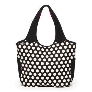 Essential Neoprene Big Dot Picnic Tote Bag