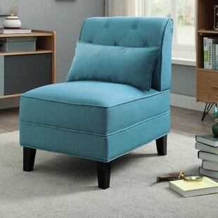 Latitude Run Riccio Slipper Chair
