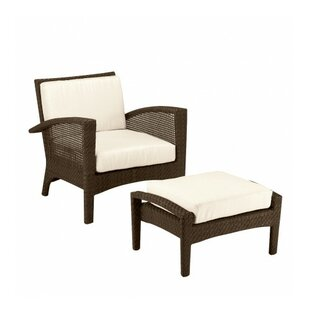 Woodard Trinidad Patio Chair with Cushions