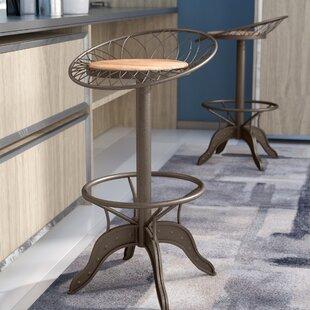 Trent Austin Design Daniels Adjustable Height Swivel Bar Stool