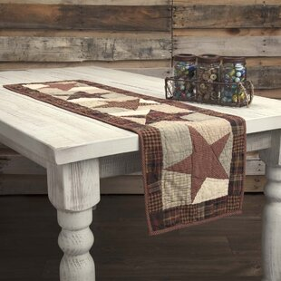 Lydia Star Classic Primitive Tabletop & Kitchen Quilted Runner