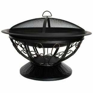 CobraCo Aegean Steel Wood Burning Fire Pit