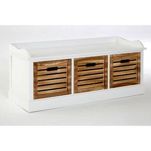 Springfield Drawer Storage Bench By Beachcrest Home