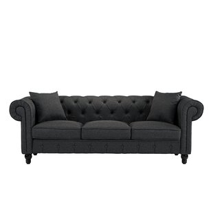 Affordable Ricker Chesterfield Sofa by Charlton Home Reviews (2019) & Buyer's Guide