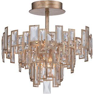 Metropolitan by Minka Bel Mondo 5-Light Semi Flush Mount
