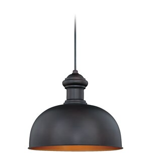 Breakwater Bay Englert 1-Light Outdoor Pendant
