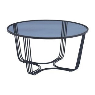 Lynde Coffee Table with Tray Top
