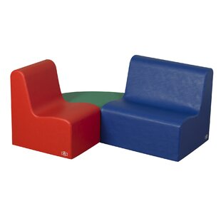 Buy clear School Age Learning 3 Piece Soft Seating ByChildren's Factory