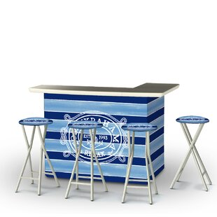 Tommy Bahama 5-Piece Bar Set