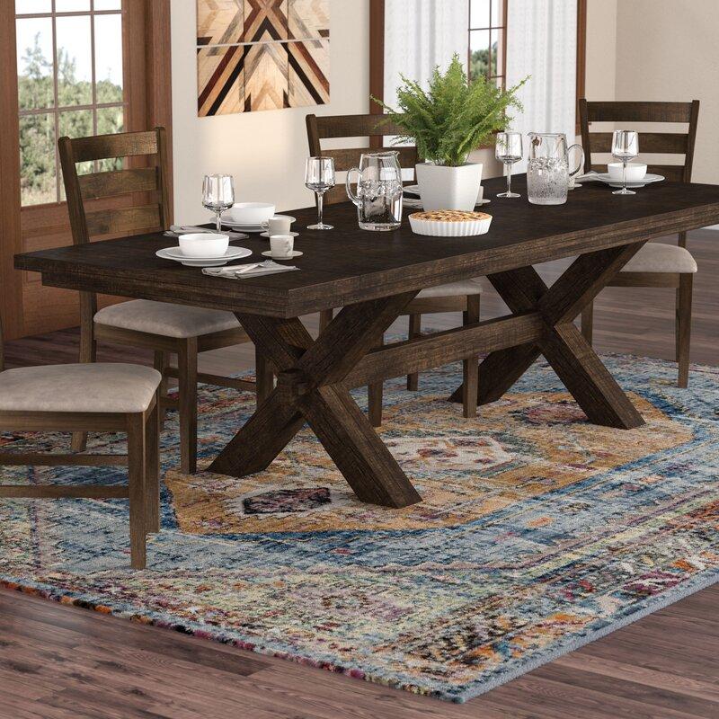 Bismark Pedestal Extendable Dining Table