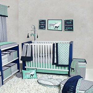 Noah Tribal 10 Piece Crib Bedding Set