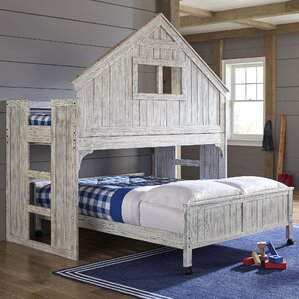 Lake House Twin Over Full Bunk Bed by Birch Lane Kids?