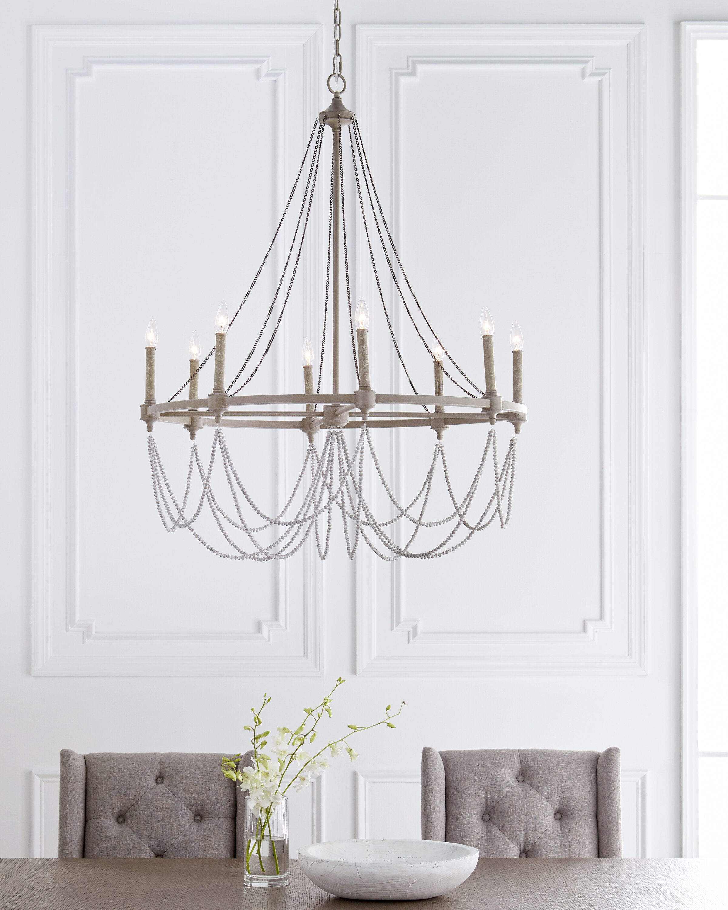 Ved 8 Light Candle Style Empire Chandelier Reviews Birch Lane