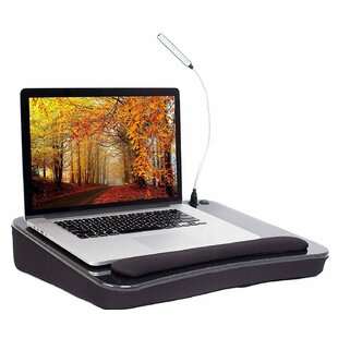Kelise Sofia Sam 193 Lap Desk with USB Light by Winston Porter
