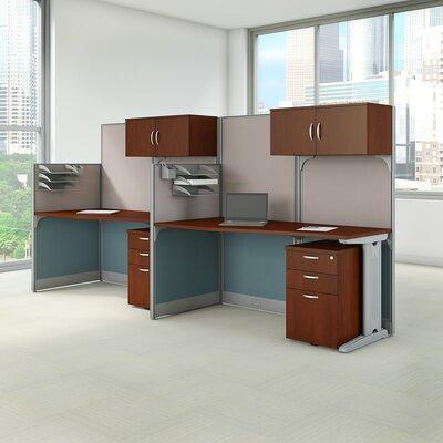 Cubicle Workstations 6 Piece Desk