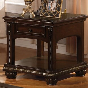 Wentz End Table with Storage by Astoria Grand
