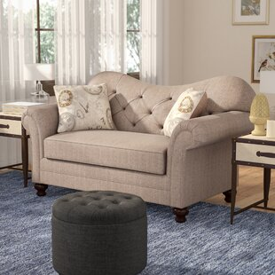 Reviews Serta Upholstery Chess Loveseat by Darby Home Co Reviews (2019) & Buyer's Guide