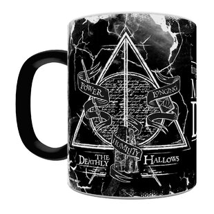 Harry Potter The Deathly Hallows Heat Sensitive Coffee Mug