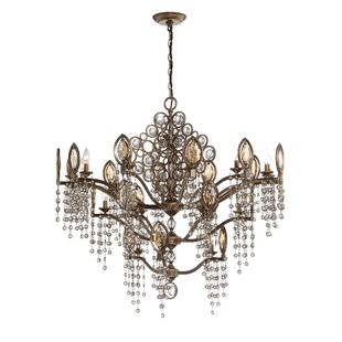 Eurofase Capri 21-Light Candle Style Chandelier