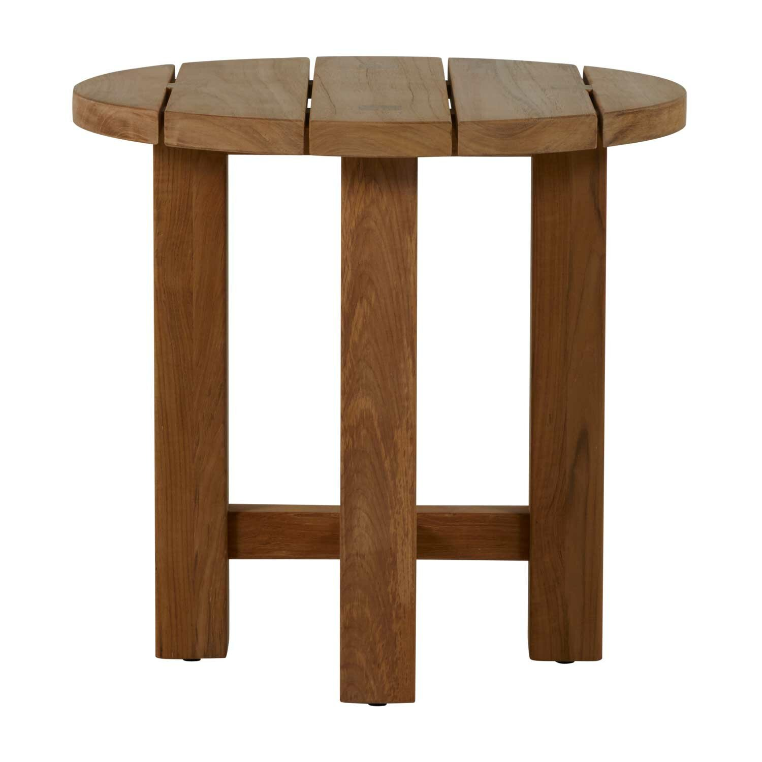 Summer Classics Croquet Teak Side Table Perigold