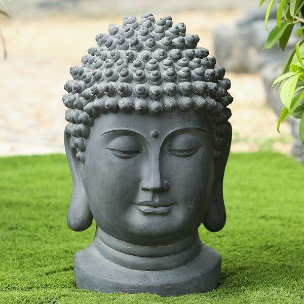 Large Buddha Head Statue Wayfair