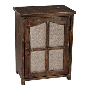 Low priced Charlton 1 Door Accent Cabinet ByWilliston Forge