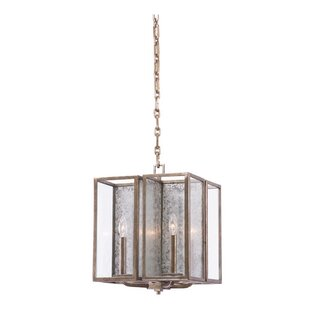 Kalco Camilla 4-Light Square/Rectangle Chandelier