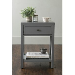 Laurel End Table with Storage by Red Barrel Studio