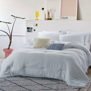 Debbi Fringes Washed Comforter Set