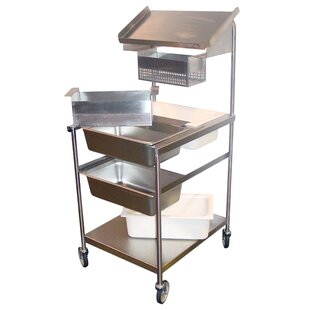 Bread and Batter Stations Bar Cart by PVIFS