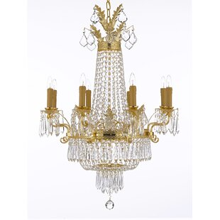 Astoria Grand Linsey 12-Light Empire Chandelier
