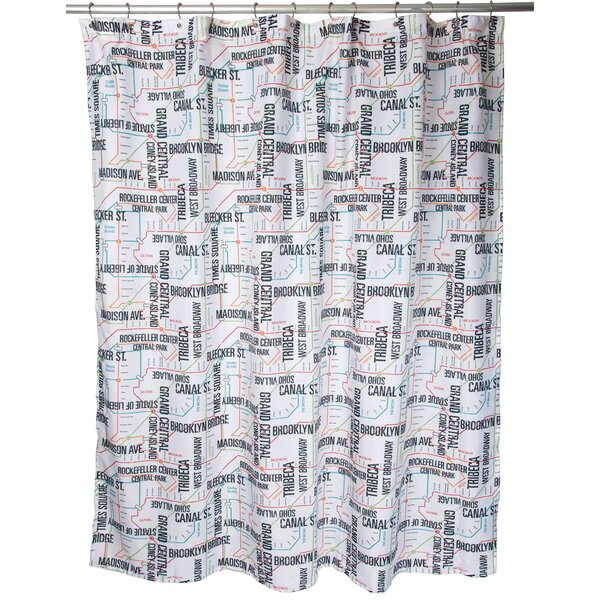Famous Home Fashions In Transit Shower Curtain