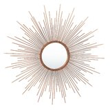 Copper Sunburst Wall Mirrors You Ll Love In 2021 Wayfair